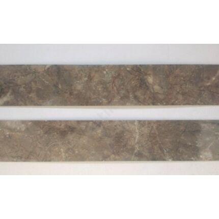 Konyhai munkalap   éldekor 45 mm  Alhambra Terra barna márvány szín 3600 mm