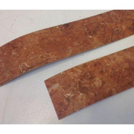 Konyhai munkalap   éldekor 45 mm  Alhambra Umbra vöröses barna márvány szín 5000 mm