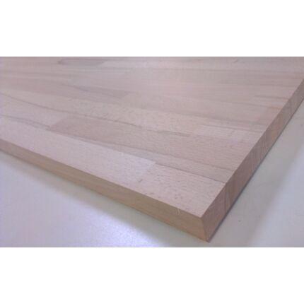 Asztallap táblásított bükkfa gőzölt HT 28 mm  780x750 mm A min. 0,585 m2 kb. 11 kg