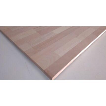 Konyhai munkalap táblásított bükkfa gőzölt HT 35 mm 1500x650 mm  A min 0,975 m2 / tábla hossztoldott