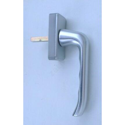 Ablakkilincs eloxált aluminium színű alumimium INTERNORM 1. sz négyzetes shild