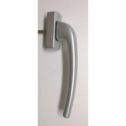 Erkélyajtó kilincs eloxált aluminium színű HOPPE 180 mm karral 170747 emelő-toló erkélyajtó