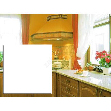 Konyhai munkalap laminált 1550x600x38 mm fényes fehér  konyhapult 101 FS  428. sz.