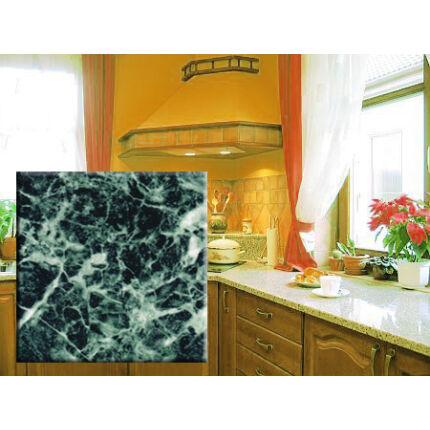 Konyhai munkalap laminált 1100x600x38 mm zöld márvány  322.sz