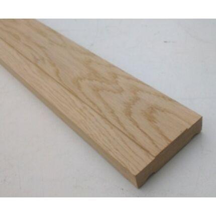 Küszöb tölgy  900x 75 mm 20 mm vastag küszöbsín horony marással fa küszöb