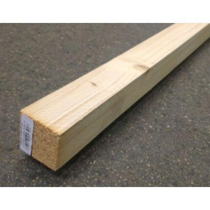 Fenyő fűrészáru stafni fa 48x48x4000 mm SZÁRÍTOTT lucfenyő zárléc  ( prémium )