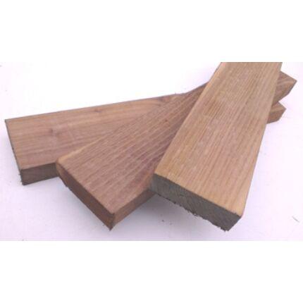 Gőzölt akácfa fűrészáru hobbyfa 26x70x360 mm HU++