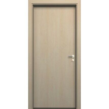 Beltéri ajtó  dekorfóliás    Juhar szín   90x200x20 cm tele jobbos DIN E15  utólag szerelhető tokkal