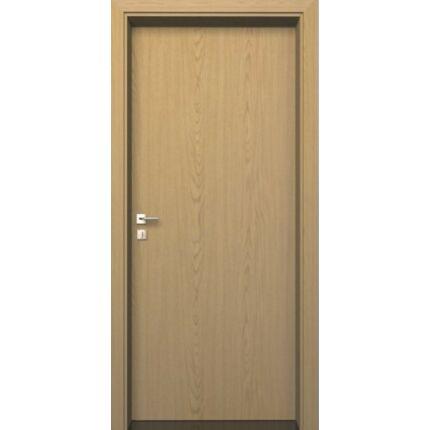 Beltéri ajtó dekorfóliás  Tölgy szín  75x210x12 cm  tele jobbos MAS103  utólag szerelhető tokkal