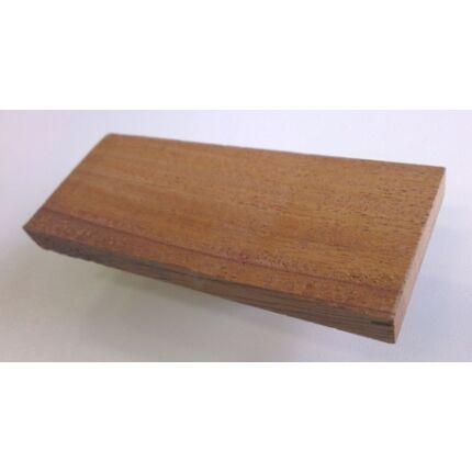Khaya mahagóni faminta darab 6x40x100 mm  13. sz