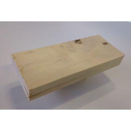 Nyárfa faminta darab 6x40x100 mm  121. sz