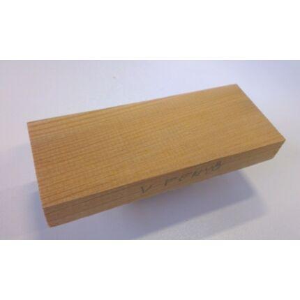 Vörösfenyő faminta darab 6x40x100 mm  125. sz