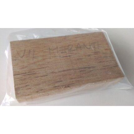 Meranti világos faminta darabok 6 dkg/csomag  232. sz