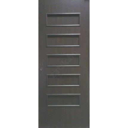 Beltéri ajtó dekorfóliás  wenge szín  90x210x12 cm tele jobbos MAS111 utólag szerelhető tokkal