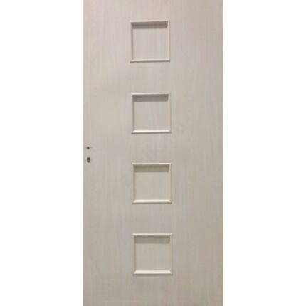 Beltéri ajtó dekorfóliás  Juhar szín 100x210x 10 cm 4 betét jobbos MAS175 utólag szerelhető tokkal