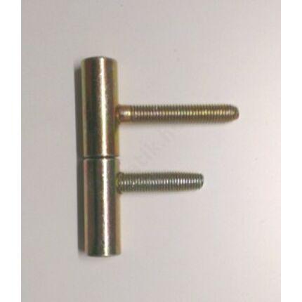Becsavarós pánt átm. 15x70 mm ajtópánt kadmiumozott pipapánt MAS