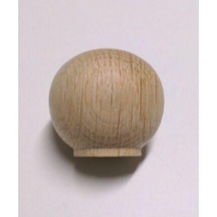 Bútorgomb  bükkfa átm. 34x31 mm natúr gömb B34 HEF HU++