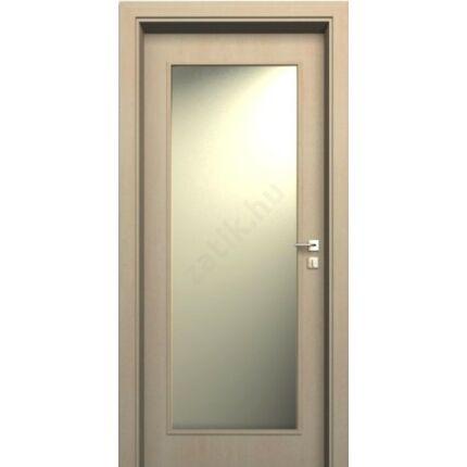 Beltéri ajtó  dekorfóliás Juhar szín  90x210x33 cm ÜVN jobbos JW 69 utólag szerelhető tokkal