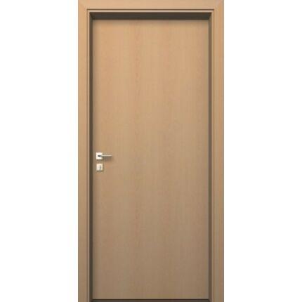 Beltéri ajtó  dekorfóliás    Bükk szín   77x202x12 cm tele balos DIN E21 X  utólag szerelhető tokkal