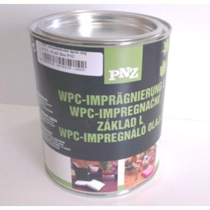 Teraszburkolat ápoló olaj WPC-hez 0,75 L  15 m2/ liter PNZ