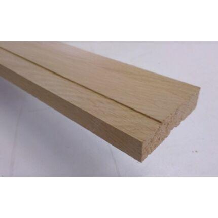 Küszöb tölgy  650x 70 mm 20 mm vastag küszöbsín horony marással fa küszöb