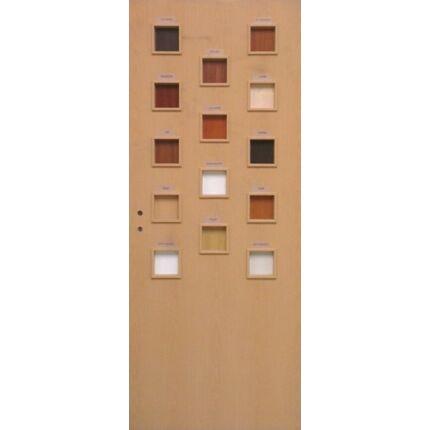 Beltéri ajtó dekorfóliás  Bükk szín  90x210x12 cm tele 14 kaz  jobbos MAS55  utólag szerelhető