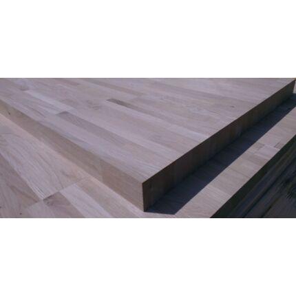Asztallap táblásított tölgyfa HT 42 mm 3000x850 mm Rusztikus 2,55  m2 / tábla HU++