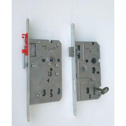 Zár bevésőzár 52x72 mm BALOS dekorfóliás beltéri ajtólaphoz