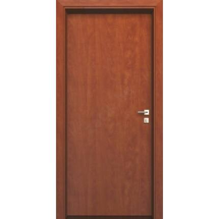 Beltéri ajtó dekorfóliás  Calvados szín  90x210x12 cm tele jobbos MAS181 utólag szerelhető tokkal