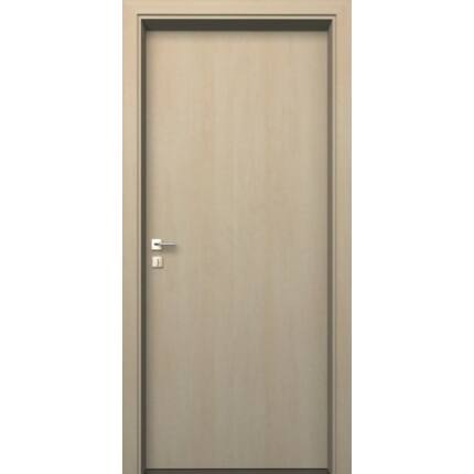Beltéri ajtó dekorfóliás  Juhar szín  90x210x14 cm tele balos MAS75 utólag szerelhető tokkal