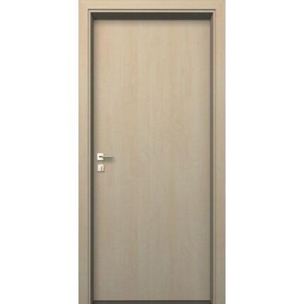 Beltéri ajtó dekorfóliás  Juhar szín  90x205x10 cm tele balos EGYEDI  MAS218 utólag szerelhető tokk