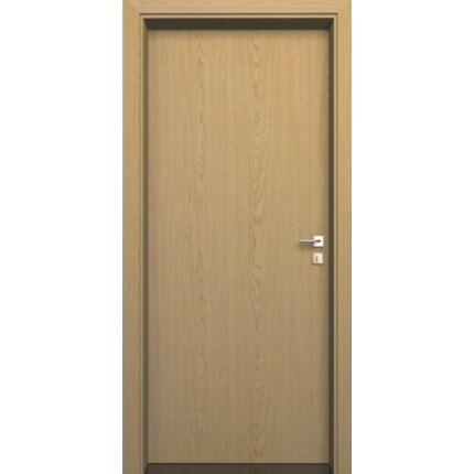 Beltéri ajtó dekorfóliás  Tölgy szín  75x210x16 cm tele jobbos MAS12  utólag szerelhető tokkal