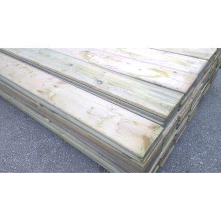 Fenyő deszka telített 18x140x3000 mm lucfenyő impregnált kerítésléc GW