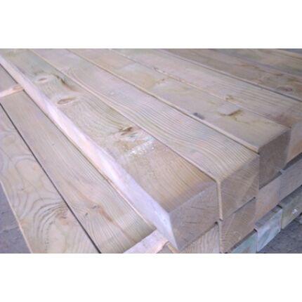 Fenyő gerenda telített 85x85x1200 mm impregnált kültéri faanyag