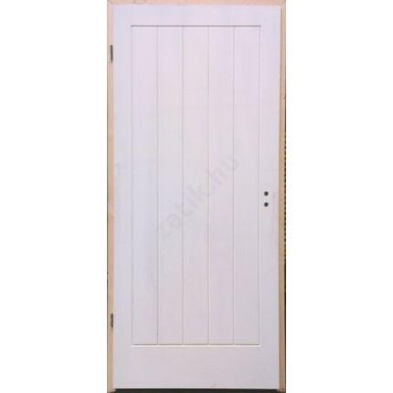 Beltéri ajtó  dekorfóliás   Fehér szín V5 100x210  tele balos BT39 BLOKK TOKKAL