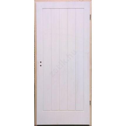 Beltéri ajtó  dekorfóliás   Fehér szín V5 100x210  tele jobbos BT40 BLOKK TOKKAL