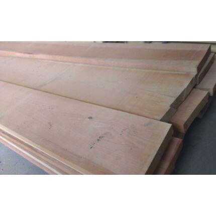 Gőzölt bükkfa fűrészáru 50 mm OF. 2 m felett SZÉLEZETT szárított