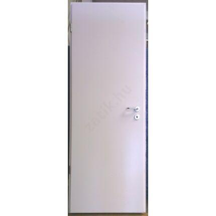 Beltéri ajtó dekorfóliás  Fehér szín  77x214x13 cm  tele balos MAS172 ACÉL TOKKAL