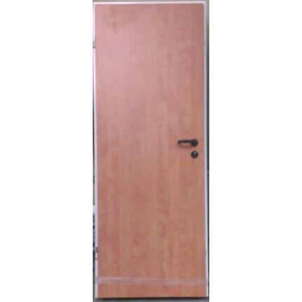 Beltéri ajtó dekorfóliás  Égerfa szín 77x202x13 cm  tele balos MAS37 ACÉL TOKKAL