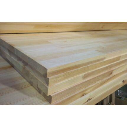 Konyhai munkalap táblásított borovi fenyő HT 32 mm 1750x650 mm A min. 1,13 m2/tábla HU+