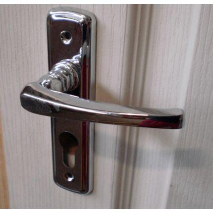 Bejárati ajtó kilincs PZ 55 króm VARIO