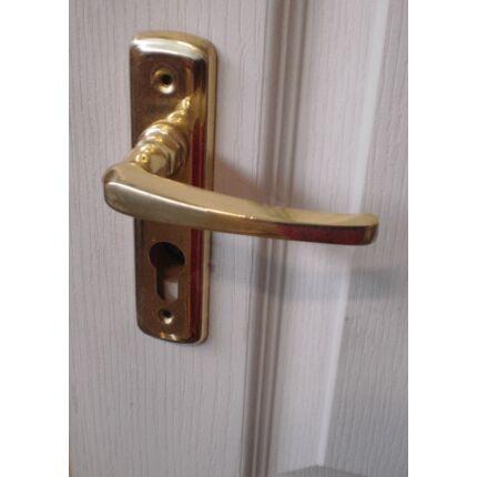 Bejárati ajtó kilincs PZ 55 réz VARIO
