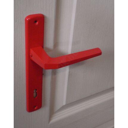 Beltéri ajtó kilincs BB 90 piros szinterezett