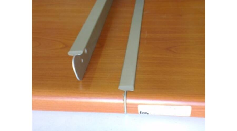 Konyhai munkalap illesztő toldó profil 600 mm aluminium - munkalap illesztő profilok - Zatik ...